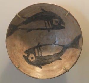 Plate Design pre-800 A.D. Nazca tribe, Cusco Peru